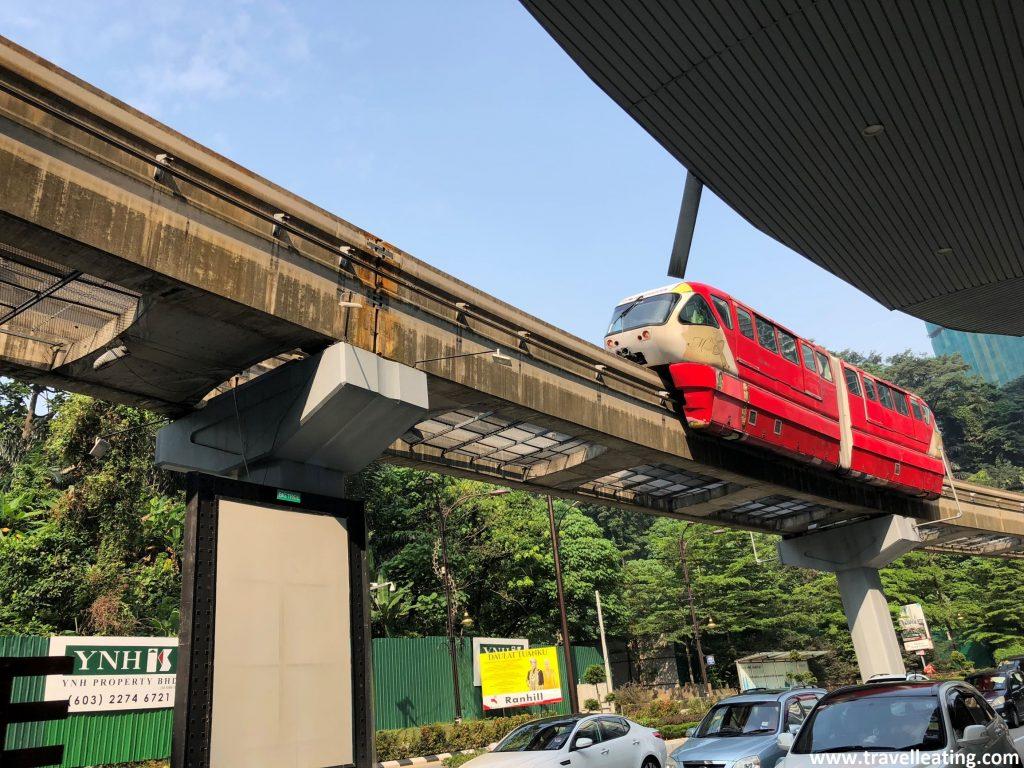 Monorail en KL.