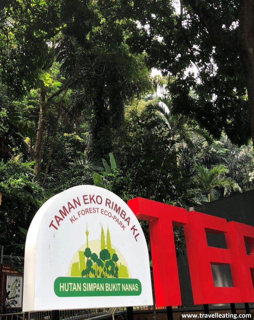 Entrada KL Fores Eco Park.