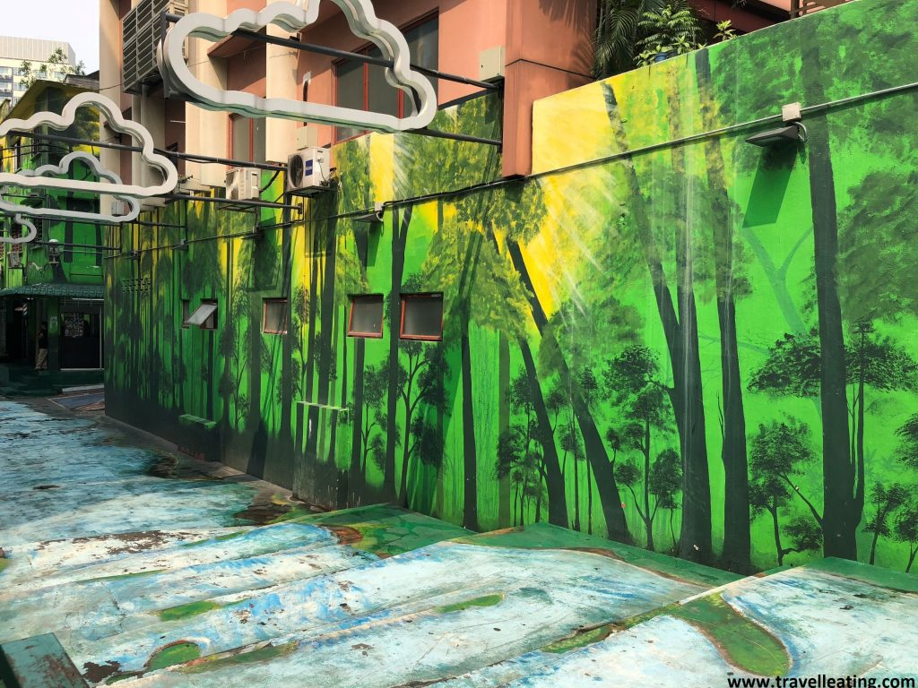 Jalan Alor street art.