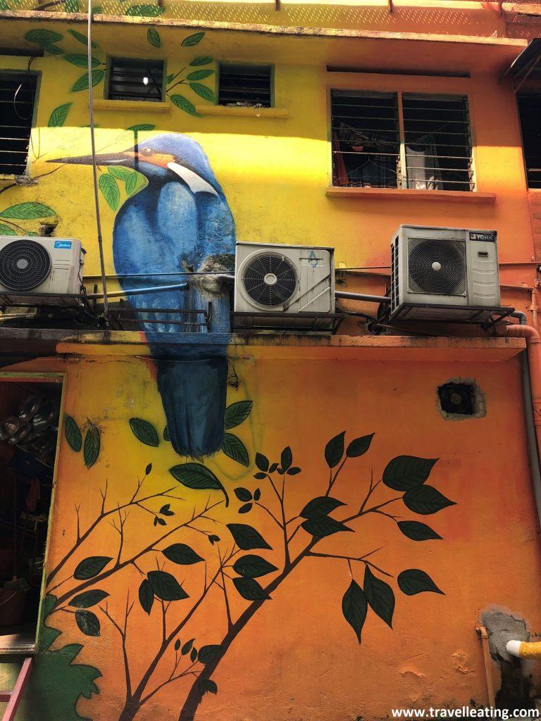 Street art Kuala Lumpur.