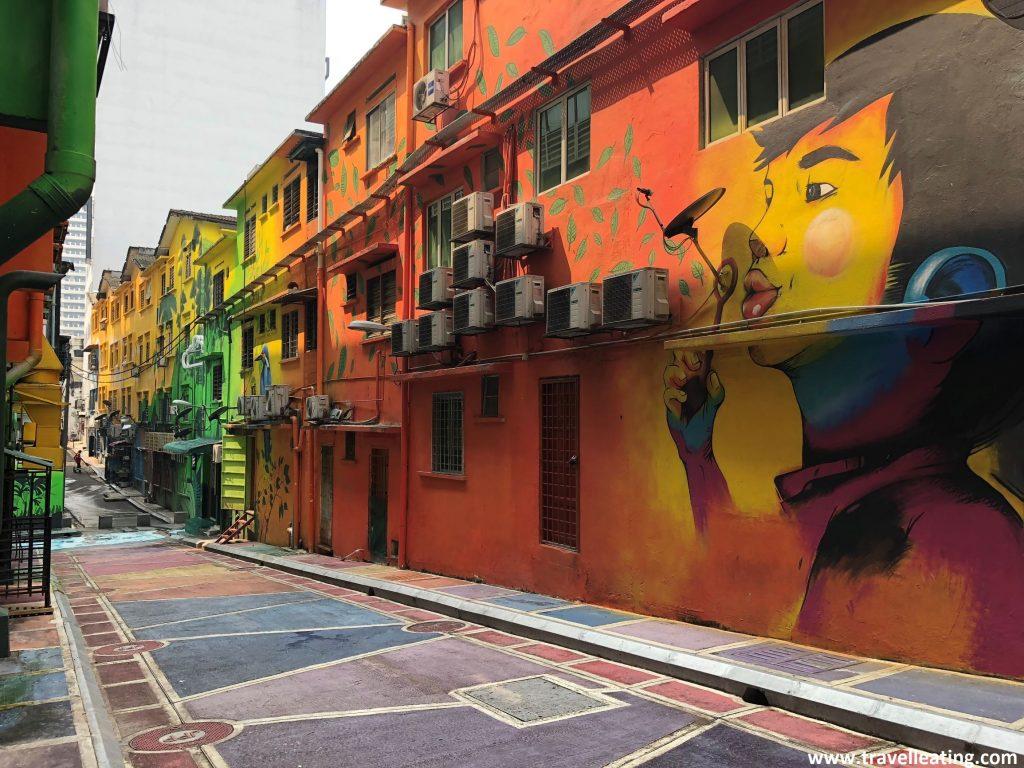 Alor Backspace Street Art.