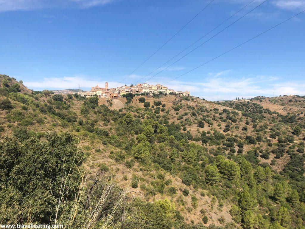 Pueblo situado encima de una colina y rodeado de viñedos. Se trata de Gratallops uno de los mejores lugares que ver en El Priorat.