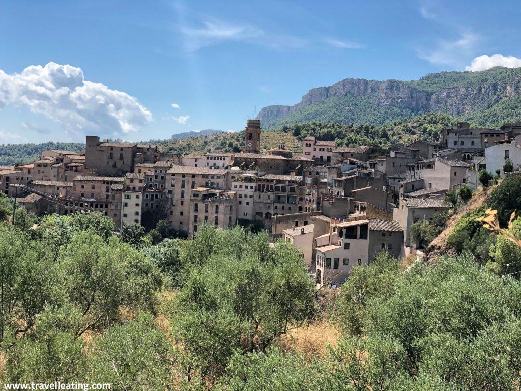 Imagen de Vilella Baixa, uno de los pueblos más bonitos de la zona. Su visita por tanto es de lo mejor que hacer en El Priorat.