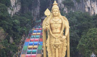 Batu Caves, Kuala Lumpur. Uno de los destinos más populares al viajar a Malasia.